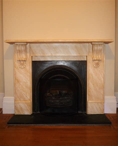 faux marble painted marble fireplaces traditional
