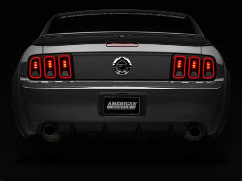 mustang tail lights 2005 mustang parts product news page 4 americanmuscle com