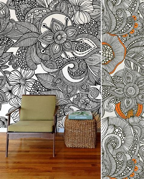 zentangle wallpaper for walls zentangle wall art and wallpapers on pinterest