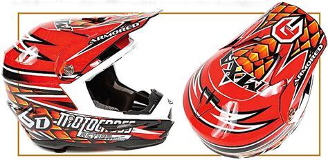 custom motocross helmet wraps motocross magazine mxa team tested armored graphix