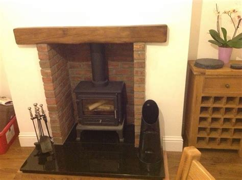 Wooden Beam Fireplace by New Fireplace Wood Beam Diynot Forums