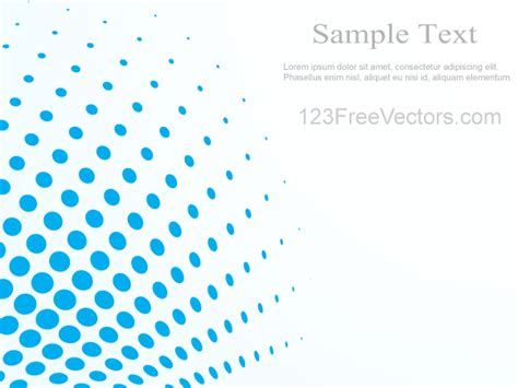 Light Blue Backgrounds Abstract Blue Halftone Background Vector Illustrator