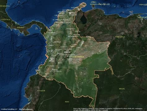 best sattelite maps colombia satellite maps leaddog consulting