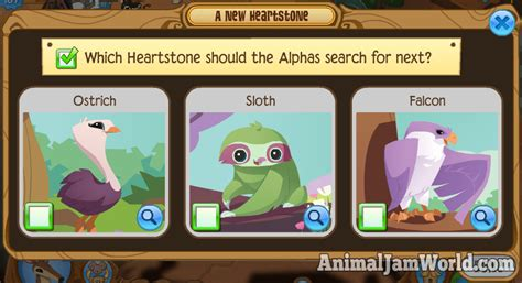 animal jam accounts that work 2016 vote for the next new animal falcon sloth or ostrich
