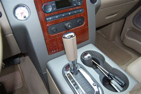 floor shifter knob change how to 2007 pics
