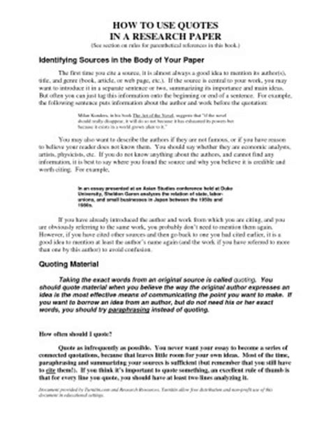 How To Place A Quote In An Essay by Embedding Quotes In An Essay Quotesgram