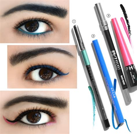 how to wear colored eyeliner sephora glossy the tip three ways to wear colored