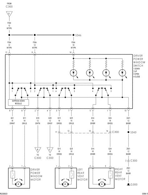 need wiring diagram for 2003 dodge grand caravan power windo