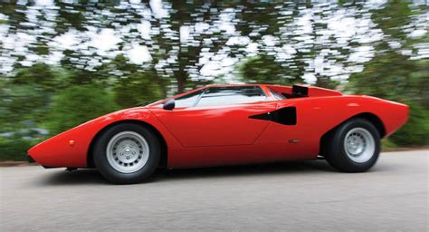 Where Does The Lamborghini Come From The Lamborghini Countach Is A Concept Car Come True