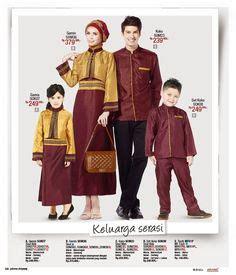 Gamis Ayudia Rania Dusty Pink busana muslim keluarga ayah ibu dan anak model