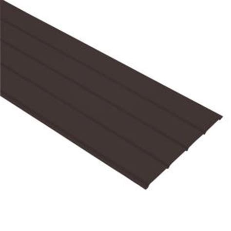 Vinyl Soffit Home Depot by Gibraltar Building Products 16 In X 12 Ft Royal Brown