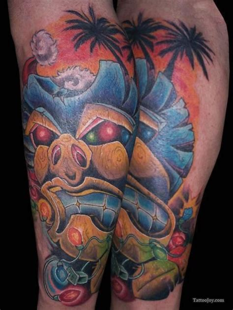 mystic tiki tattoo 27 best new school images on tatoos