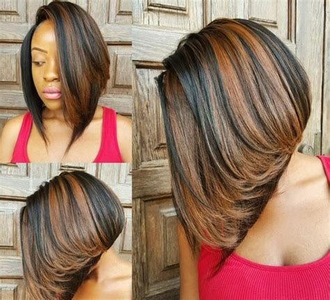 sew in layered bob hairstyles 35 stunning protective sew in extension hairstyles