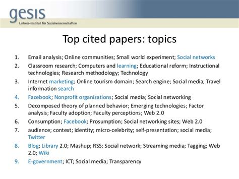 thesis questions about social media what s new in social media research