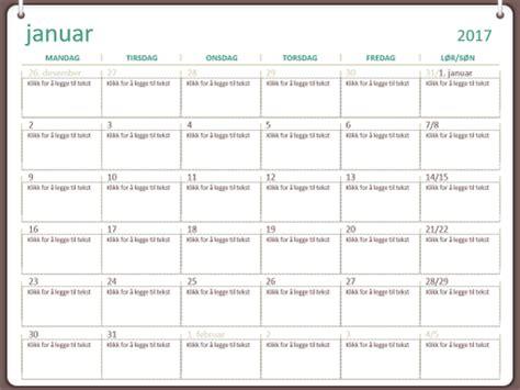 Kalender 2018 Med Helligdager Kalendere Office