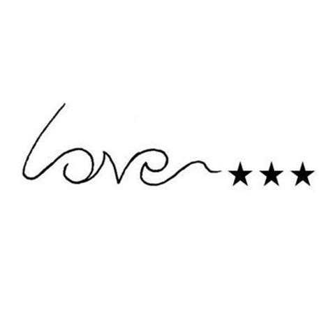 word love tattoo designs simple word design tattoowoo
