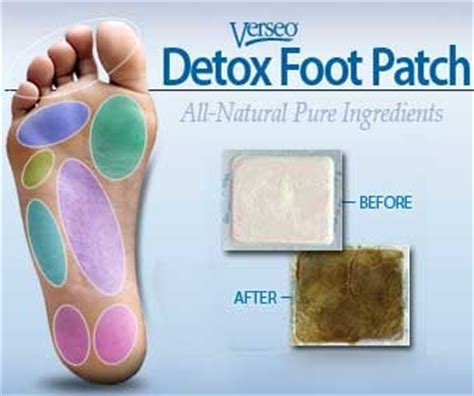 Do Verseo Detox Foot Patches Work by Verseo Detox Foot Patch