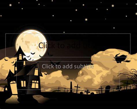 halloween powerpoint templates free premium templates