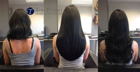18 inch hair extensions before and after too perfect hair extensions ltd hair extension