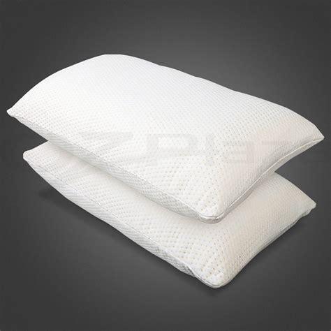 Visco Elastic Memory Foam 2 X Premium Visco Elastic Memory Foam Pillow Thick