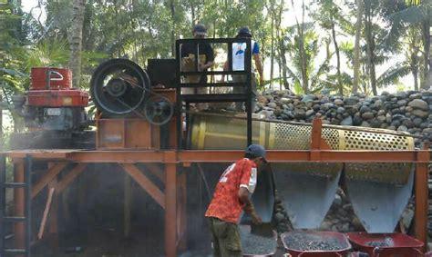 Mesin Pemecah Batu Mobil Portable crusher mesin pemecah batu koral portabel