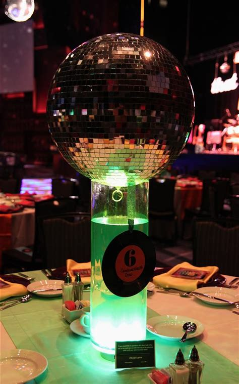 disco centerpieces disco 80 s centerpiece images frompo