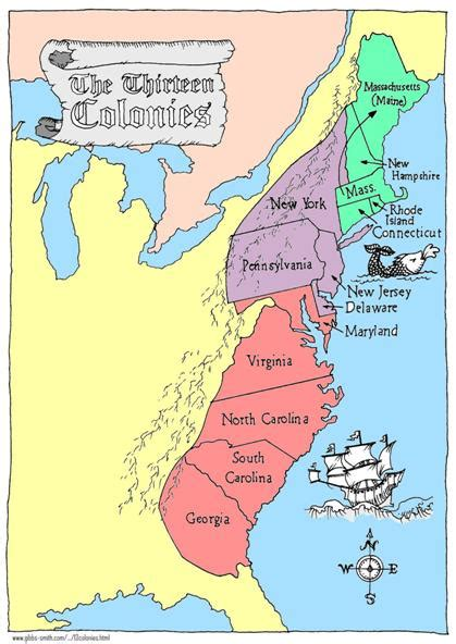 boston map 13 colonies chapter 4 the colonies hawks5