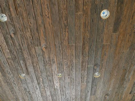 Faux Wood Ceiling Planks by Faux Wood Faux Wall And Ceiling Planking Fatezzi Wood Inc