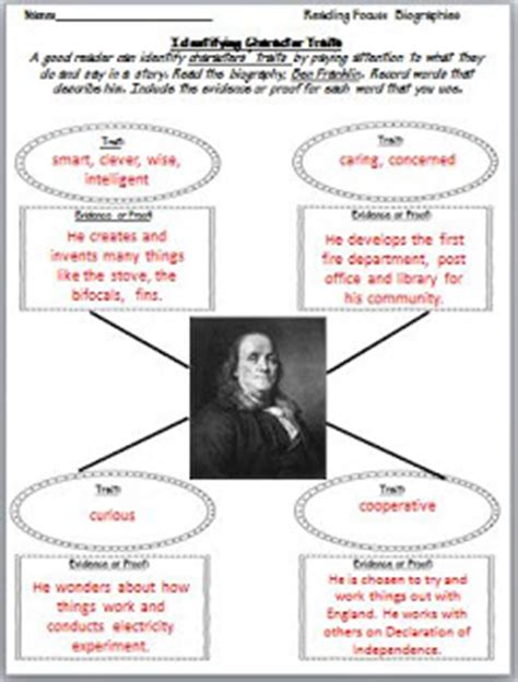 benjamin franklin biography 3rd grade third grade thinkers biographies traits and timelines