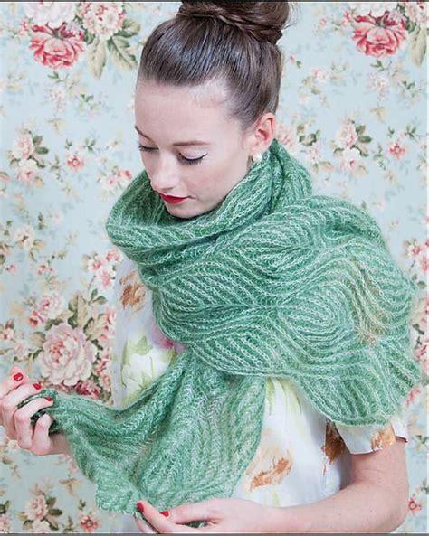 nancy marchant knitting brioche ravelry willow pattern by nancy marchant two colour