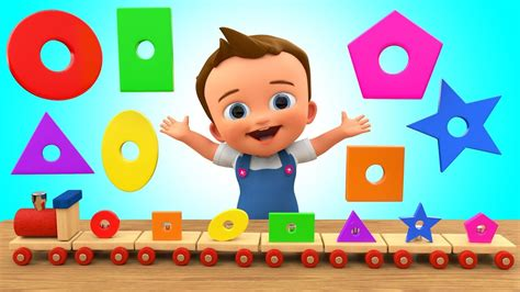 learning colors toddlers 002 learn colors shapes for children with baby wooden