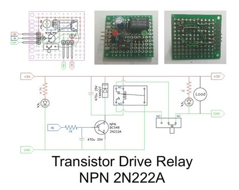 transistor npn relay 24 best diy electronic project images on charger power led and fish tanks