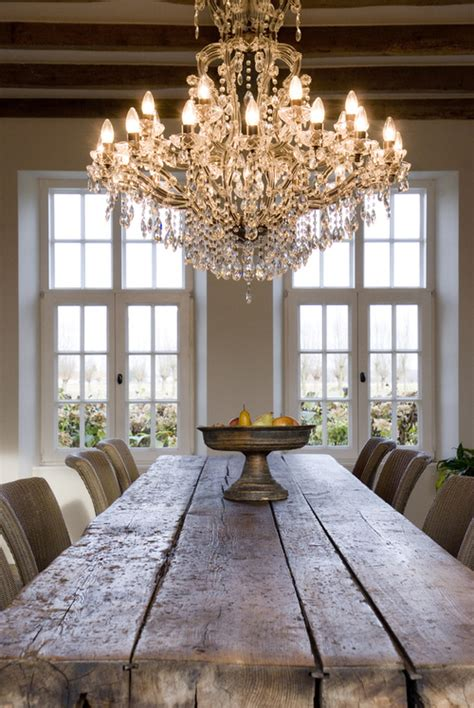 elegant chandeliers dining room farmhouse dining room table and a dramatic elegant
