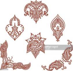 mehndi patterns using geometric shapes henna tattoo stock illustrations and cartoons getty images