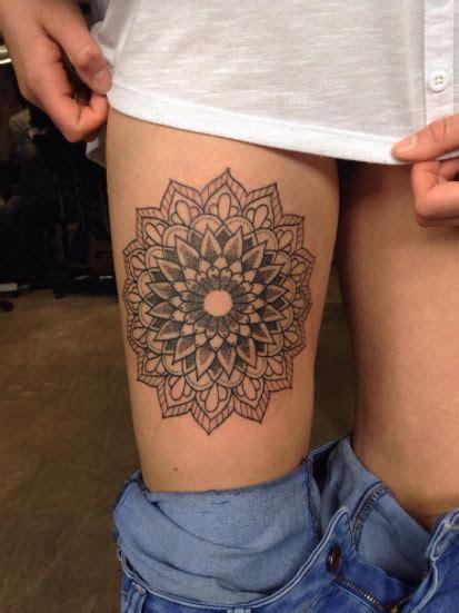 thigh tattoos  women