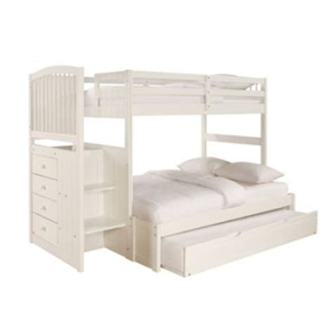 powell bunk beds with desk powell starway mission bunk bed with