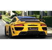 Yellow Porsche AttackCar HD Wallpaper  Car Wallpapers