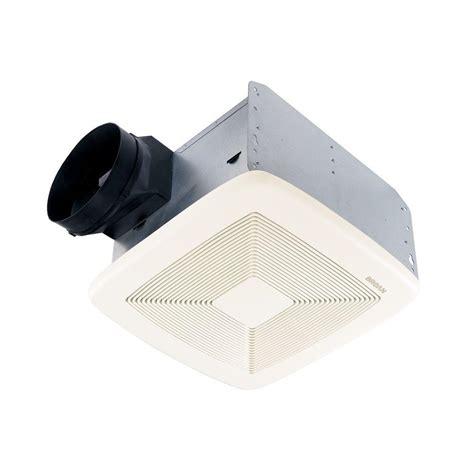 Quietest Bathroom Exhaust Fan Reviews Broan Qtx Series 80 Cfm Ceiling Exhaust Bath