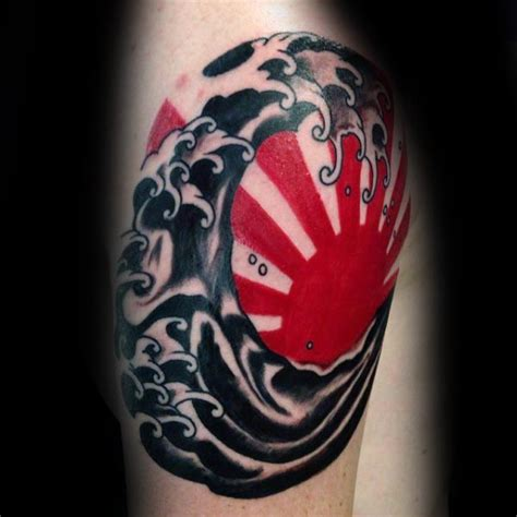 japanese rising sun tattoo designs 60 rising sun designs for japanese ink ideas