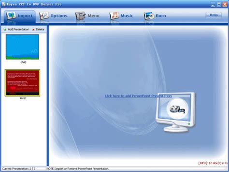 tutorial powerpoint professional moyea ppt to dvd burner tutorial how to import ppt files