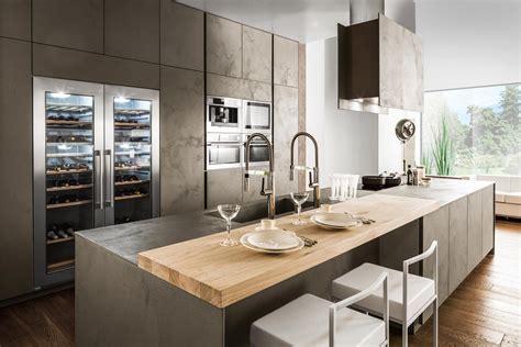cucine nuove eurocucina 2016 superfici soft touch per le nuove cucine