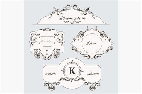 pattern undangan nikah ornament vintage undangan pernikahan 187 designtube