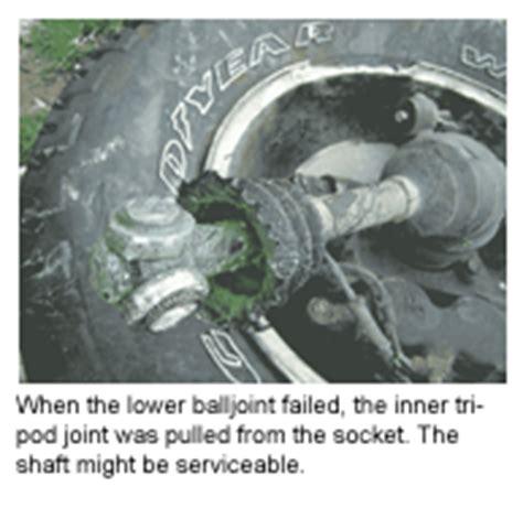 Cv Joint And Boot Repair