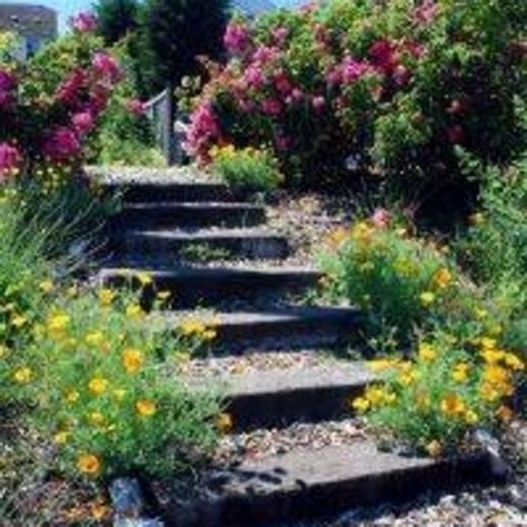 how to make a sloped backyard flat how to make steps in a garden slope flat stone stone steps and gardens