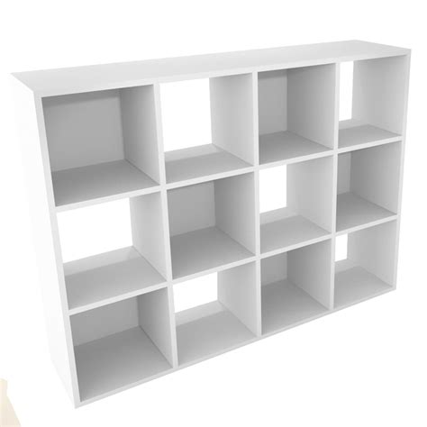 Closetmaid 12 Shelf Shop Closetmaid 12 White Laminate Storage Cubes At Lowes