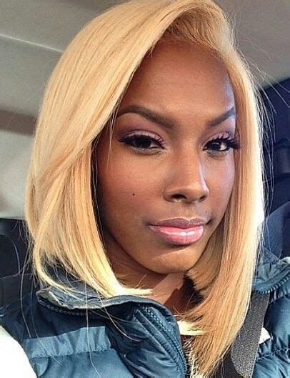 blonde bob black her hair bobs buns and fab cuts pinterest