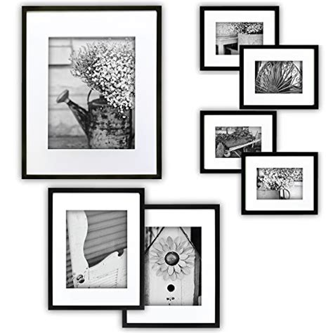 Picture Hanging Template Kit by Gallery 7 Black Photo Frame 24h Photo