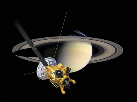 nasa saturn mission cassini huygens california science center