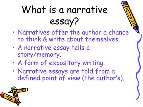 What Is A Narrative Essay by Ppt Narrative Writing Powerpoint Presentation Id 5521187