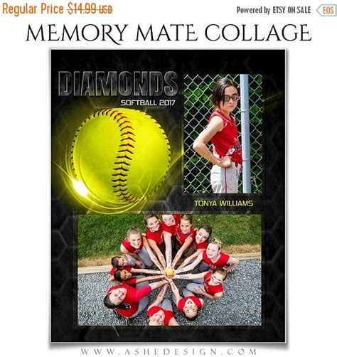 memory mate templates for photoshop 50 off sale sports memory mates honeycomb softball 2